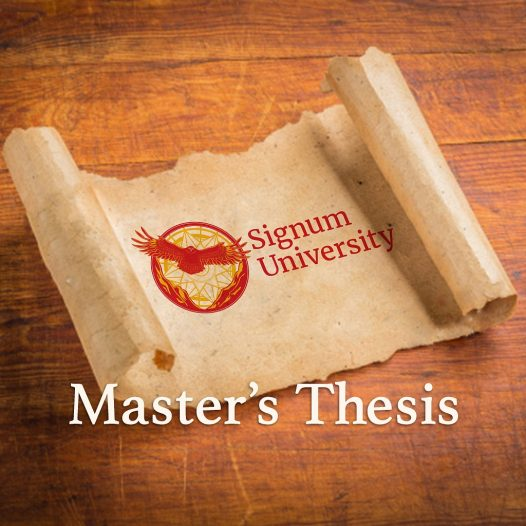 course and a thesis