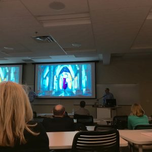 Steve Leeper's presentation of The Temptation of Brother Thomas