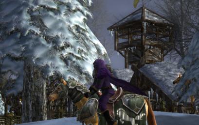 Wigend Rides to Rohan