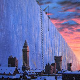 Castle Black and the Wall, by Ted Nasmith