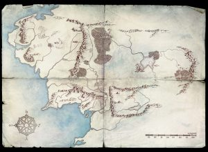 Lord of the Rings on Amazon Prime, Map 1