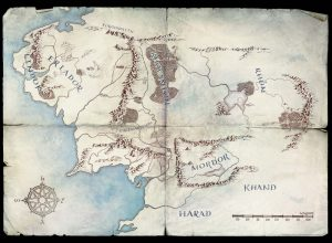 Lord of the Rings on Amazon Prime, Map 2