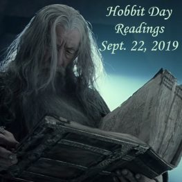 Gandalf reading in Moria