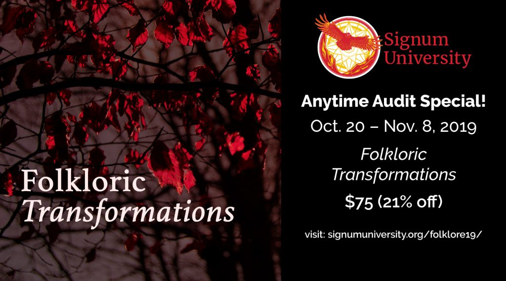 Anytime Audit Special: $75 for Folkloric Transformations Anytime