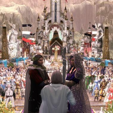 LOTRO: Wedding of Aragorn and Arwen