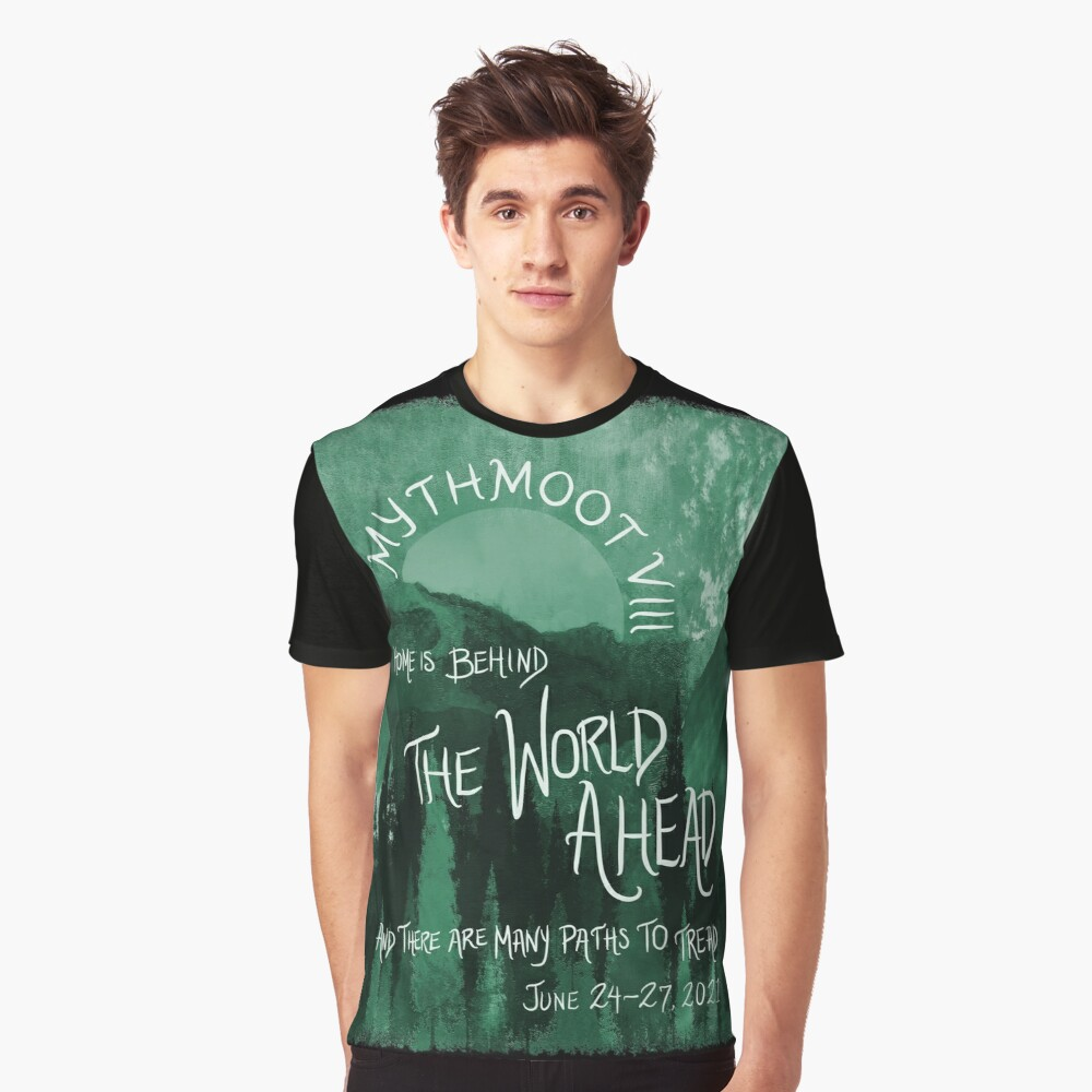 Mythmoot VIII: The World Ahead Green Graphic T-shirt